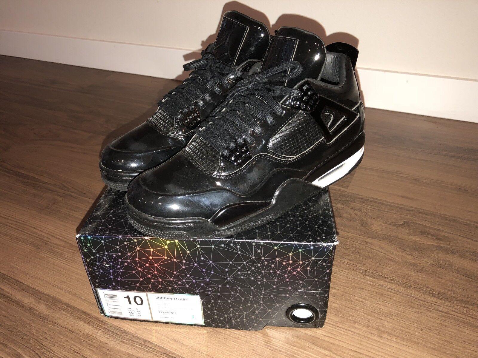 Jordan 11lab4 Black Size US 10 Used Nike Air Jordan