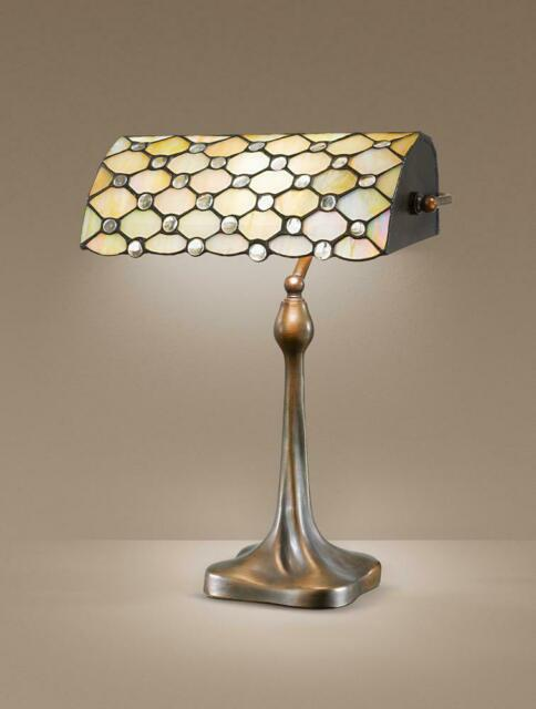 Perenz Lampada da tavolo Paralume Tiffany Art. T974l