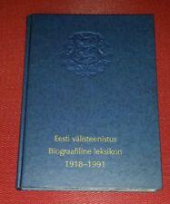 Eesti välisteenistus Biograafiline leksikon 1918 - 1991 Estonian Diplomat Bios