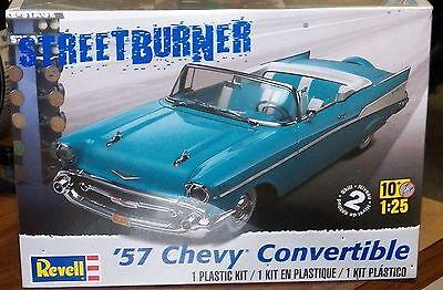 Revell Monogram 1957 Chevrolet Bel Air Convertible Model Kit 1/25