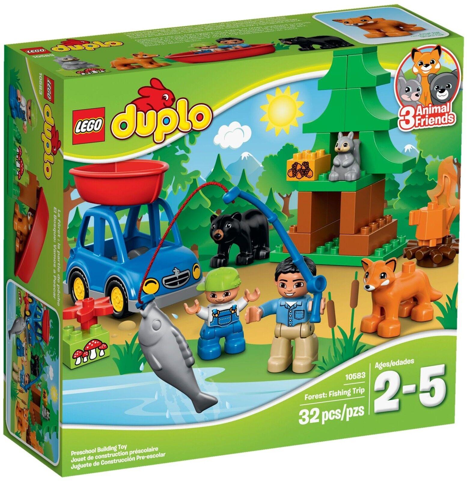 LEGO ® DUPLO ® 10583 Angel gita NUOVO OVP _ Forest: Fishing Trip NEW MISB NRFB
