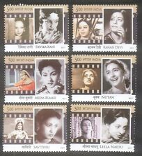 PHILA-2693a INDIA 2011 LEGENDARY HEROINES OF INDIA SET OF 6 STAMPS MINT MNH