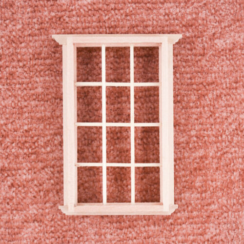 1:12 Mini Window Frame Dollhouse Miniatures Furniture Model Decoration