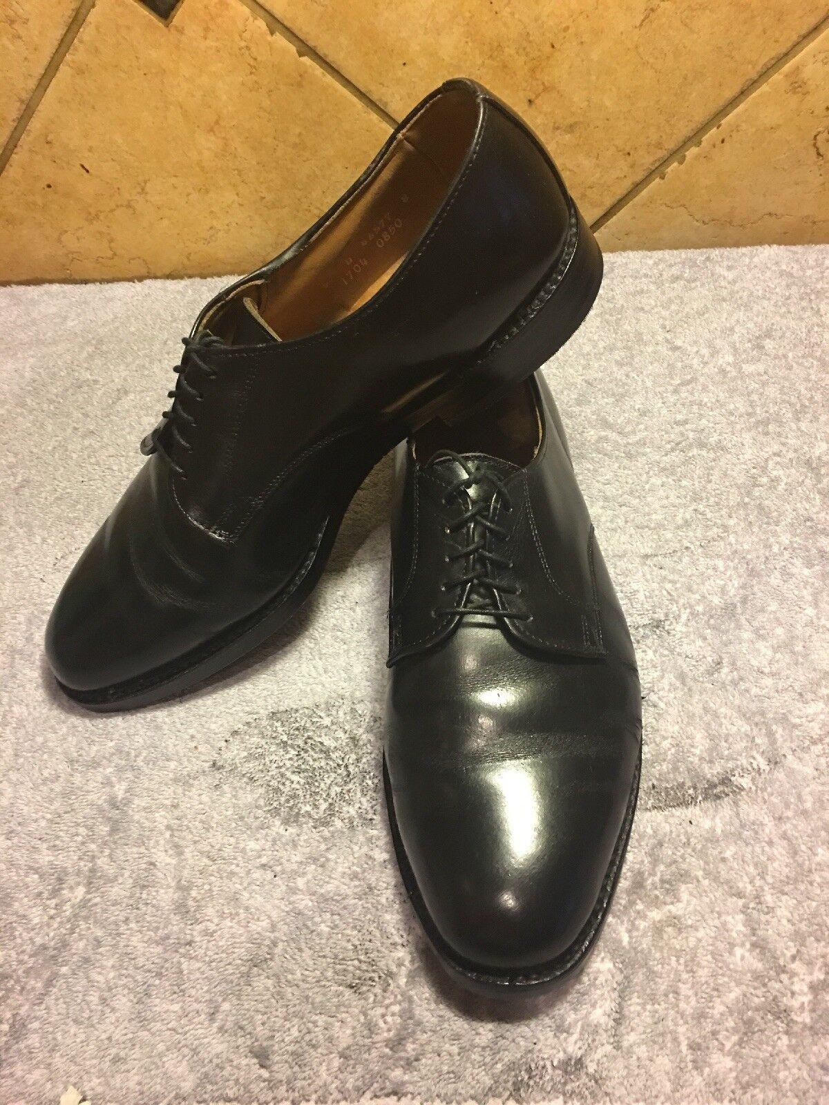 Allen Edmonds Berkley nero Leather scarpe scarpe scarpe Sz 9