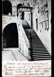 FIRENZE-ITALIE-SCALA-del-BARGELLO-avant-1904