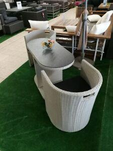 Balkonmöbel  Balkonmöbel / Gartenmöbel Set Continental grau neu | eBay