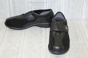 Propet Strap Shoe 8 Noir Diana M 5 Femme nxxzvr