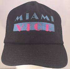 item 1 Vintage Miami Vice Snapback Trucker Style Mesh Back Hat Cap TV Show -Vintage  Miami Vice Snapback Trucker Style Mesh Back Hat Cap TV Show 54022fe4d53e