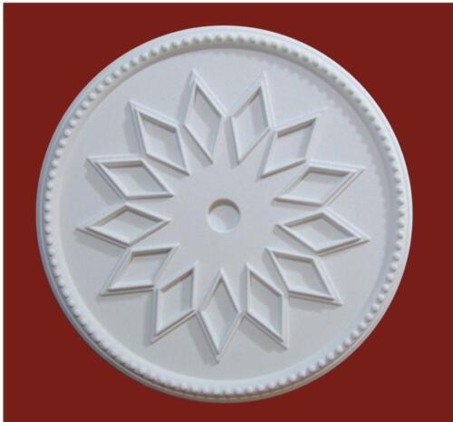 Rosette 50cm Rosetten Deckenrosette Schirm Stuckleisten Zierleisten STG 502