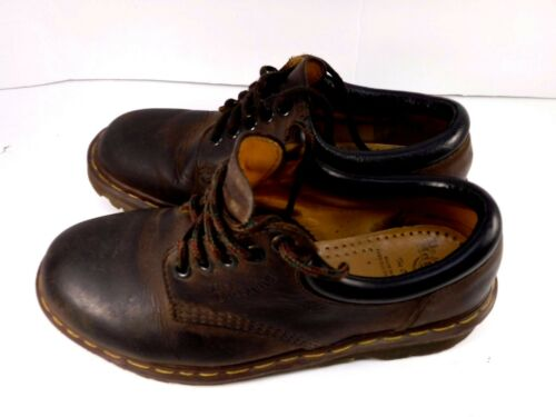 1639ecccd3 Size Made In Lace Brown Guc Uk7Us Leather Uk Dr Oxford Vtg 8 Marten Up Tie  WEH2YDe9I
