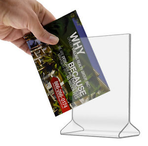 product information double sided menu counter table tent display