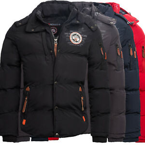 Geographical-Norway-Veron-Herren-Winter-Jacke-Outdoor-Parka-warme-Winterjacke