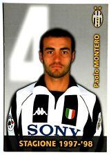 Cartoncino Juventus 1997/98 – Paolo Montero