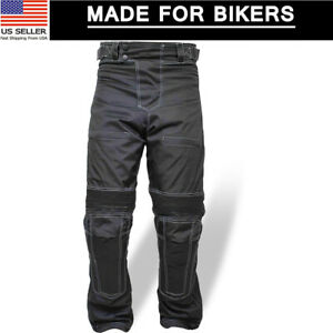 Motorcycle-Motorbike-Cordura-Textile-Waterproof-Trousers-Protective-Thermal-Pant