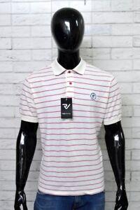Polo-WAMPUM-Uomo-Taglia-XL-Maglia-Shirt-Man-Maglietta-Cotone-A-Righe