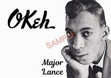 Northern Soul - Major Lance Self Created Poster/Photo Print