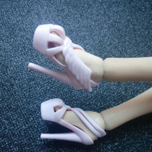 "1//6th Scale Pink plastic shoes For 12/"" PHICEN Female Action Figure"
