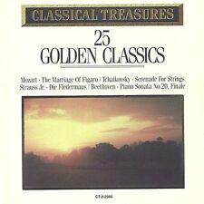 Classical Treasures: 25 Golden Classics (CD, Madacy Distribution)