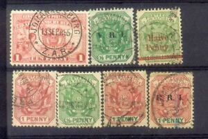 South-Africa-7-Old-Stamps
