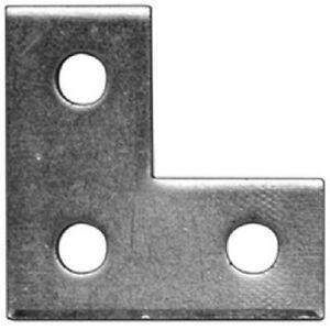 Details about Thomas & Betts ZAB219-10 3 Hole Flat Right Angle Bracket,  Electro Plated Zinc Fi
