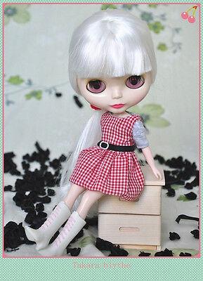"Takara 12/"" Neo Blythe White Hair Nude Doll from Factory TBO250"