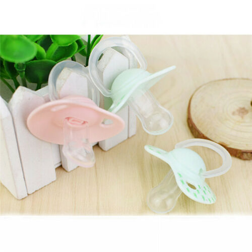 Newborn Kids Baby Orthodontic Dummy Pacifier Silicone Teat Nipple Soother CS