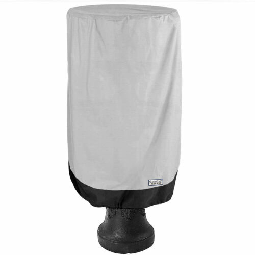 Waterproof Fountain Cover Outdoor Patio Fits up to 59-Inch Diameter Grey