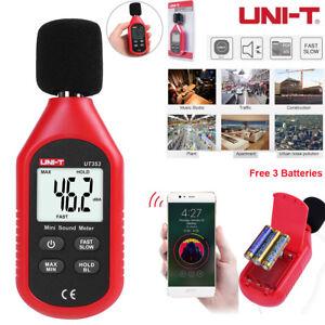 UNI-T-UT353-Digital-Sound-Noise-Level-Meter-Decibel-LCD-Detector-Tester-30-130dB