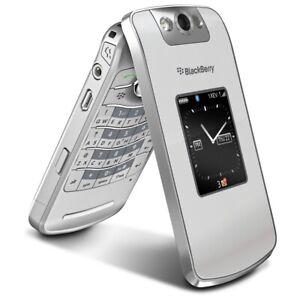 renove-BlackBerry-Pearl-Flip-8220-Argent-Debloque-Smartphone-UK