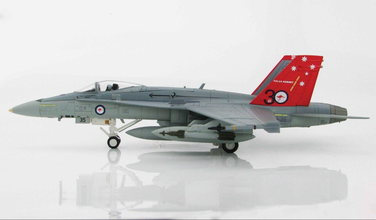 Hobby Master 1:72 F/A-18A Hornet 30th Anniversary RAAF 2015 HA3534 Brand Nuovo