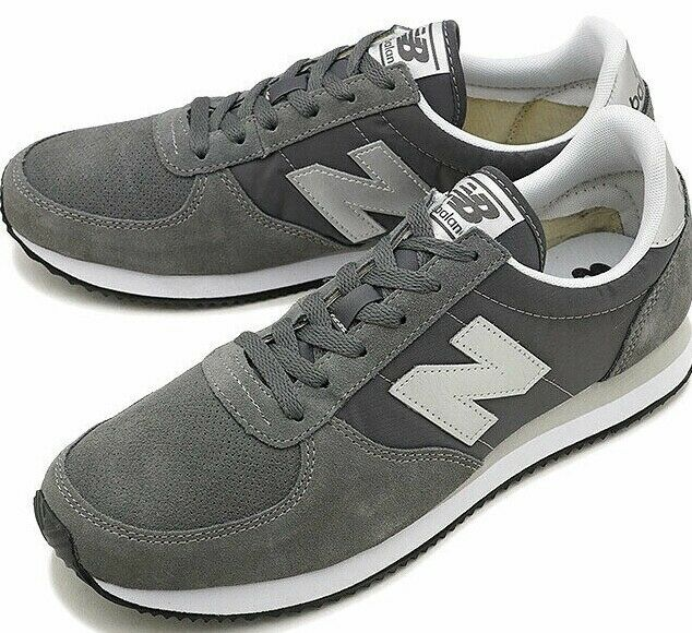 New Balance 220 Suede Leather ® ( Men Größe UK 7 EUR 40.5 ) grau   Weiß BNIB