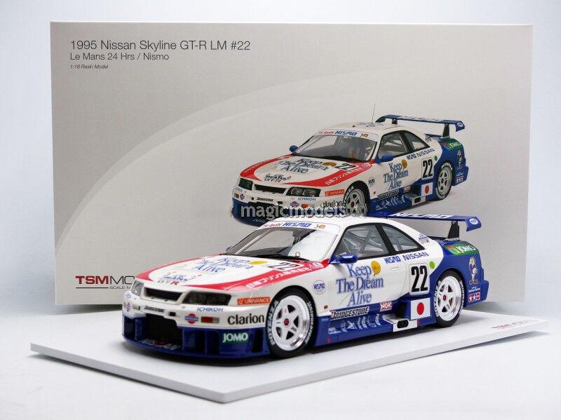 TSM Nissan Skyline GT-R LM h LeMans 1995 Fukuyama Team NISMO  18 New