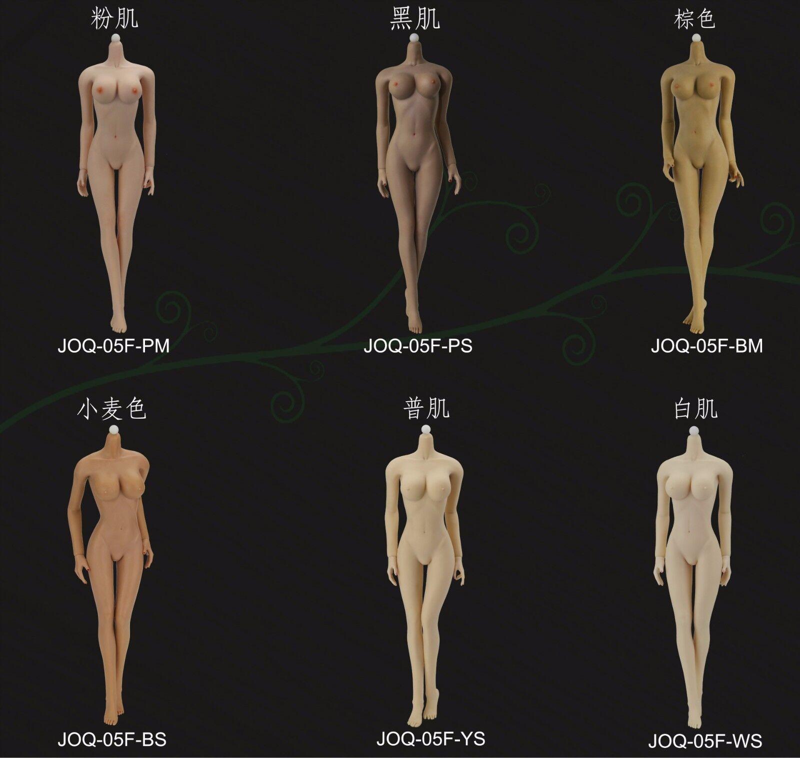 Jiaou Doll Nahtlos Weiblich Figur 1 6 Mitte Büste Körper Model Non-Detachable