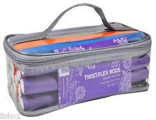 """Diane DER001 Twist Flex Perm Rods 30-pack , 6 sizes , 6 colors, 10"""" long"""