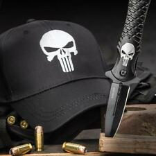 Black Legion Punisher Assisted Opening Folding Knife with Punisher Hat Combo