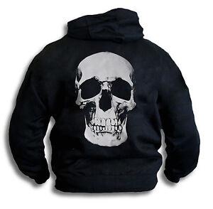Gotico Da Con Skull Felpa Mezzetinte Biker Uomo Pirata Donna Cappuccio Grande wxYEnf6qzf