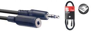 Stagg-Audio-Cable-Mini-Jack-Male-To-Mini-Jack-Female-3M-SAC3MPSMJS