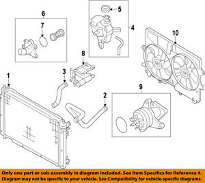 mazda oem 05 06 tribute engine coolant thermostat l35715170b ebay mazda tribute v6 engine diagram image is loading mazda oem 05 06 tribute engine coolant thermostat