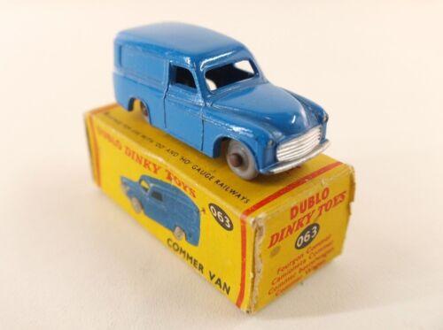 Dinky Toys Gb 063 Dublo Commer Van Jamais Joué En Boîte Mib