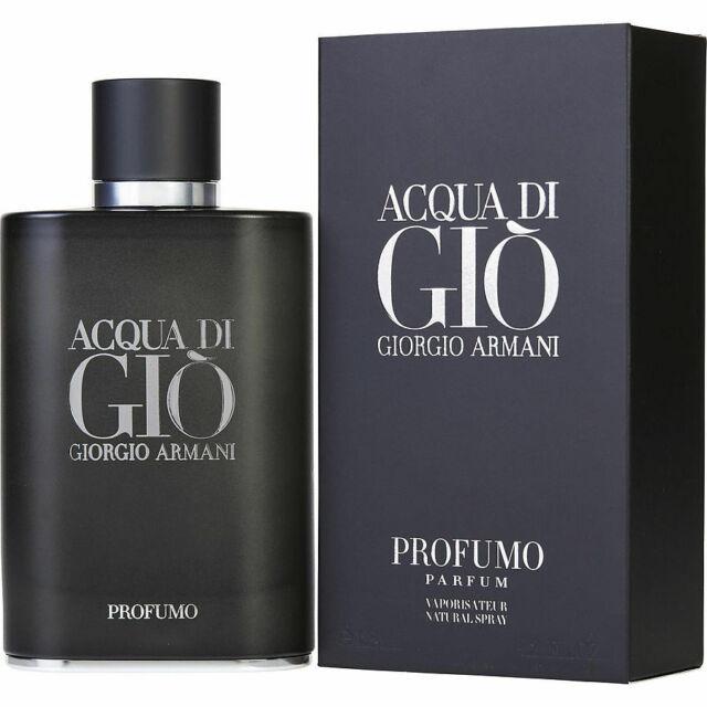 GIORGIO ARMANI ACQUA DI GIO PROFUMO PARFUM SPRAY FOR MEN 4.2 Oz / 125 ml NEW!!!