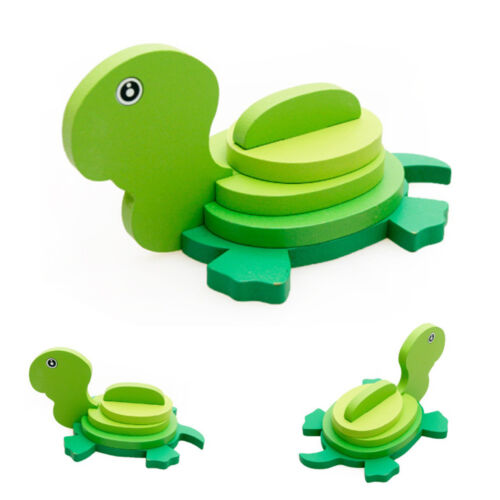 Montessori Mini 3D Wooden Puzzle Kids Educational Funny Toy Colorful Toy NO1
