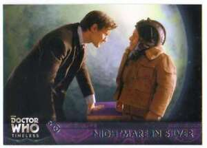 2016-Topps-Doctor-Who-Timeless-Trading-Card-89-Nightmare-in-Silver