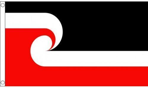 New Zealand Maori 3/' X 2/' 3ft x 2ft Flag With Eyelets Premium Quality