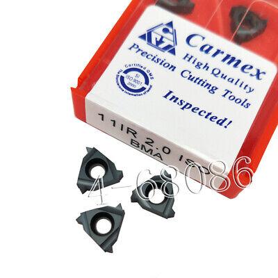 11 IR 18 NPT BMA-2 Packs Carmex Threading Insert 11 IR 18 NPT BMA