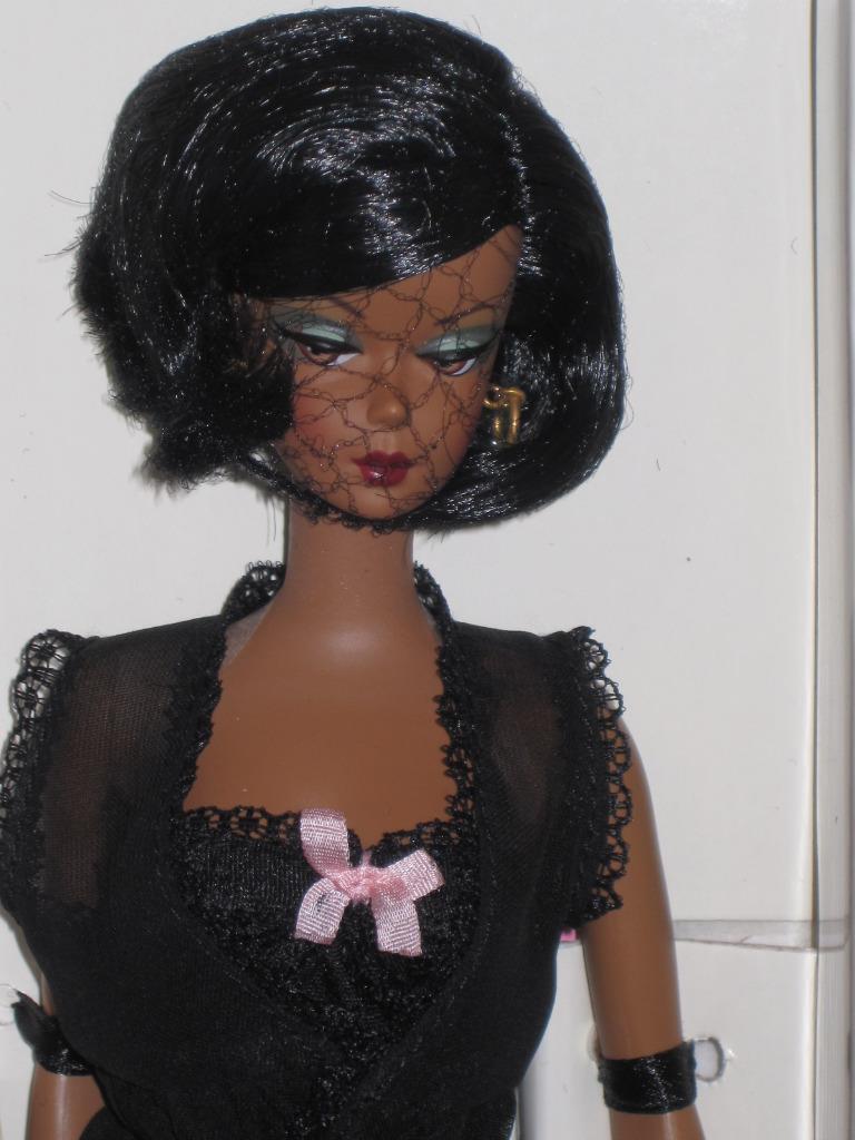 Lencería cuerpo Silkstone Barbie 2002 Modelo de Moda 02 Colección AA 56120 en Caja Original