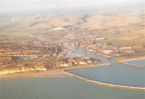 Postcard, Aerial View of Newhaven Harbour, East Sussex 73M