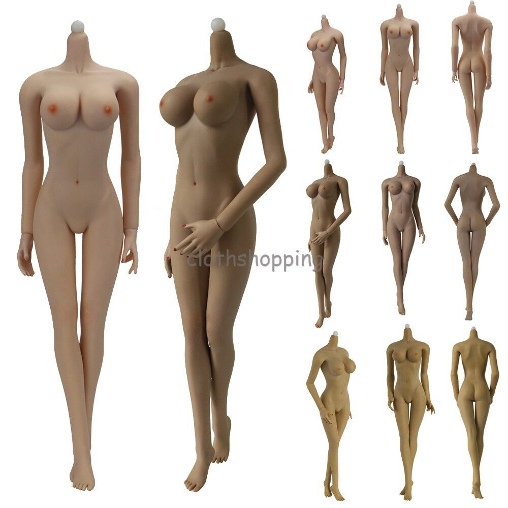 1 6 Scale JIAOUDOL Flexible Steel Stainless Body Figure W 6 color Large Bust