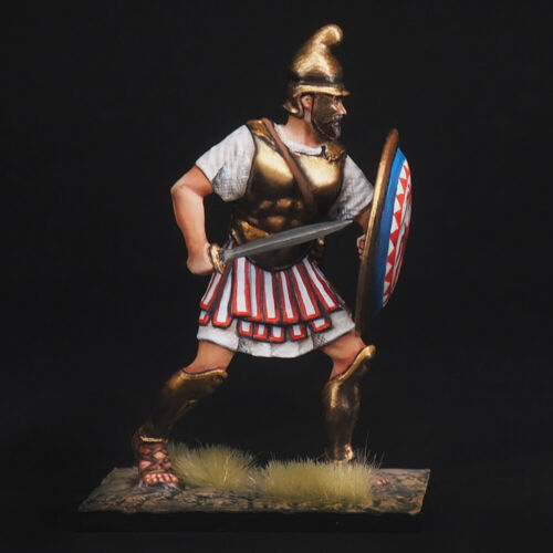 Punic wars 54 mm Tin Soldier A noble Carthaginian warrior