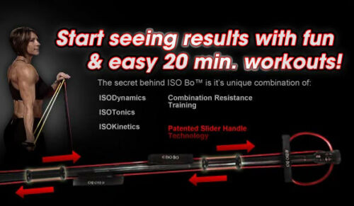 ISOBO band resistance exercise Fitness workout system