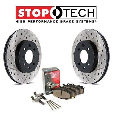 99 05 SLK320 SLK230 C240 Rear  Brake Rotors /& Pads
